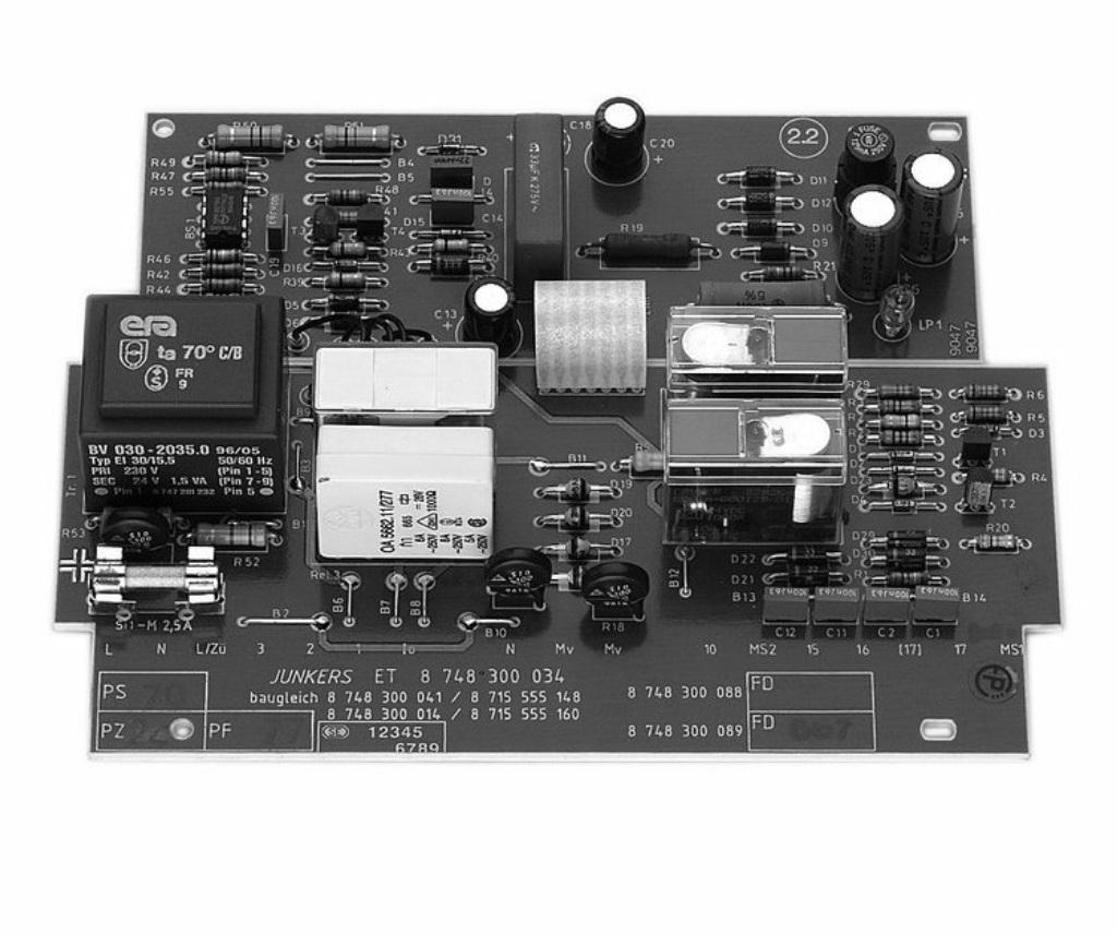 junkers 87483000340 leiterplatte ionisation heizung ersatzteile. Black Bedroom Furniture Sets. Home Design Ideas