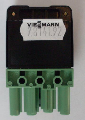 viessmann 7814192 steckverbinder heizung ersatzteile. Black Bedroom Furniture Sets. Home Design Ideas