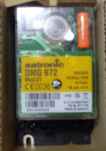 Satronic DMG972 Set Control Box
